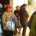 Entrega de Raciones alimenticias mensuales a 164 personas